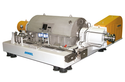 Solid bowl decanter centrifuges A-series for chemical and industrial separation applications